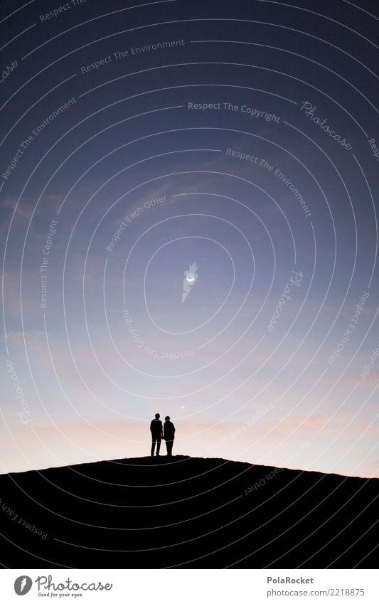 #A# Raumzeit Umwelt Zusammensein 2 ästhetisch Abenteuer fantastisch Wüste Mond mystisch Nachthimmel traumhaft Mysterium zeitlos 1001