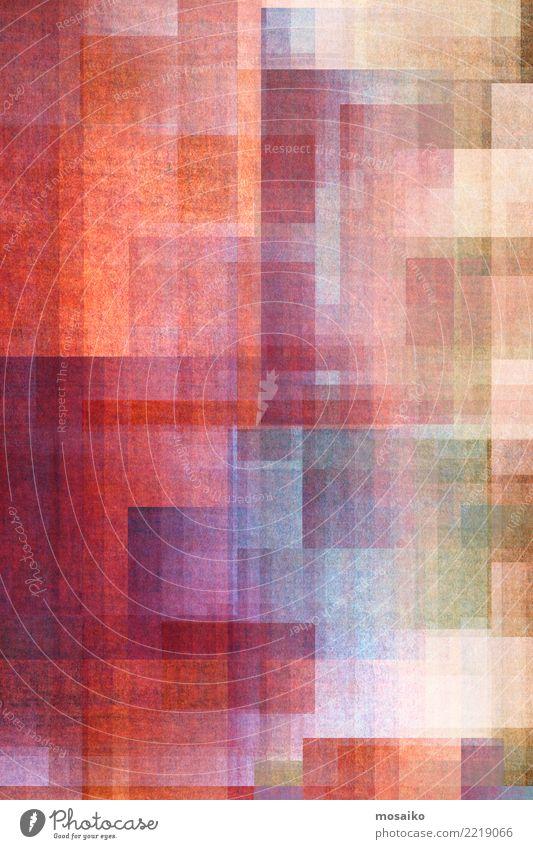 Geometrische Formen blau Farbe Hintergrundbild Stil Kunst rosa Design Linie hell retro elegant ästhetisch einzigartig Grafik u. Illustration Streifen trendy