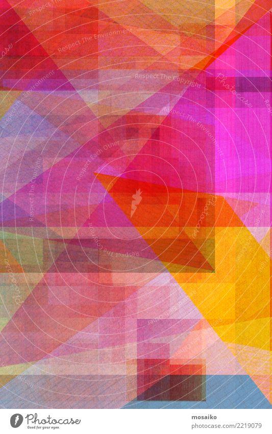 bunter geometrischer Hintergrund - farbige Beschaffenheit elegant Stil Design Dekoration & Verzierung Business Internet Kunst Linie fantastisch einzigartig