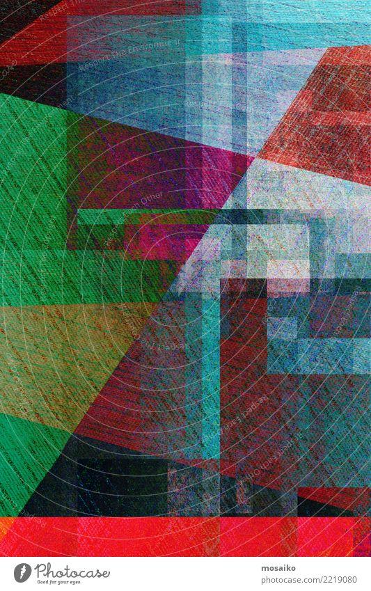 geometrischer Grafikhintergrund blau Farbe weiß dunkel Stil Kunst Business Design Linie retro Dekoration & Verzierung modern Kreativität Grafik u. Illustration