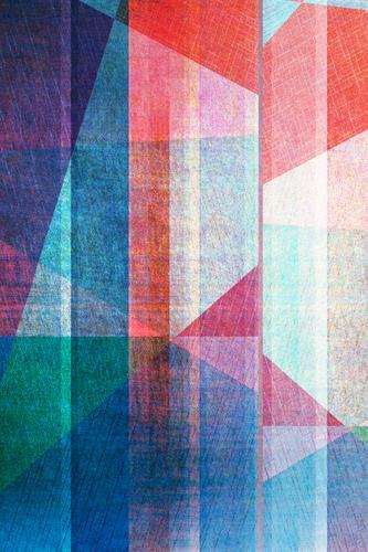 geometrischer Grafikhintergrund blau Farbe weiß rot dunkel Stil Kunst Business Design Linie retro Dekoration & Verzierung modern Kreativität