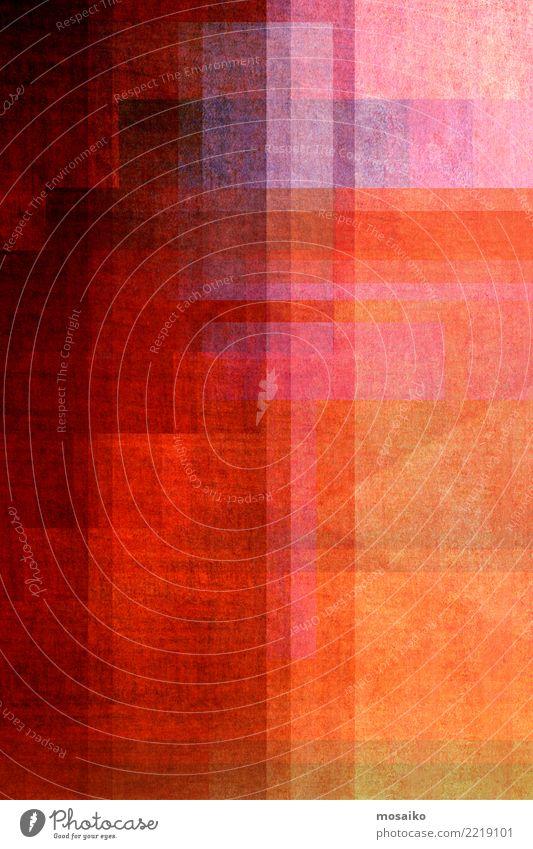 Geometrische Formen Weihnachten & Advent Farbe rot Freude Wärme gelb Stil Kunst Design Linie Zufriedenheit retro elegant Kreativität verrückt einzigartig