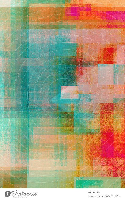 Geometrische Formen Freude Lifestyle Hintergrundbild Stil Kunst Business Design Linie retro elegant einzigartig Grafik u. Illustration Streifen Bildung Internet