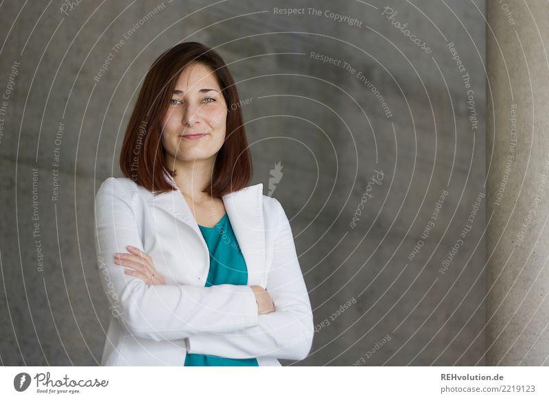Karina Frau Mensch Jugendliche Junge Frau weiß Freude 18-30 Jahre Gesicht Erwachsene feminin Business Haare & Frisuren Arbeit & Erwerbstätigkeit Zufriedenheit