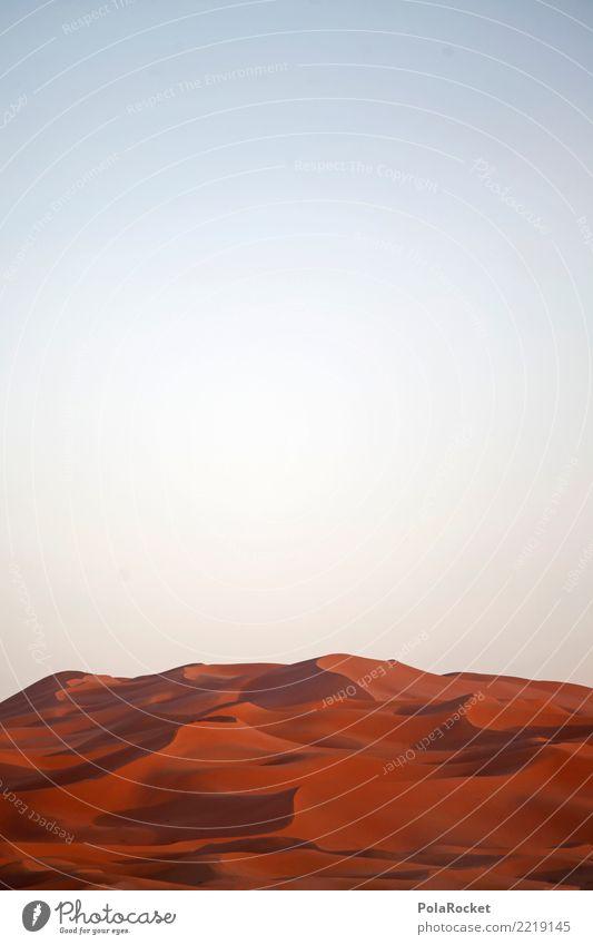 #A# Rote Sahara rot Kunst Sand ästhetisch Wüste Düne Kunstwerk