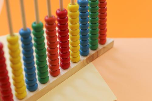 Abakus Farbe Lifestyle Hintergrundbild Holz Spielen Schule Freizeit & Hobby Zufriedenheit Kindheit Ordnung Perspektive lernen Team Bildung Netzwerk Teamwork
