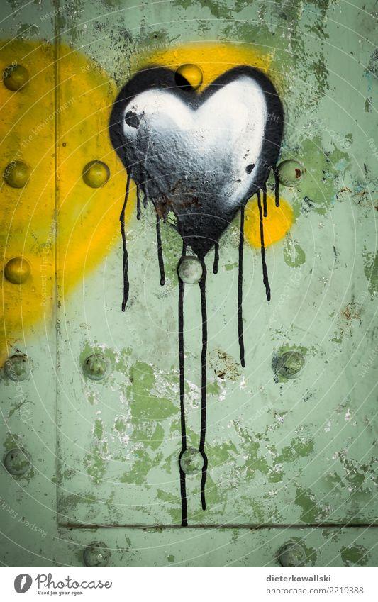 Herz Glück Zeichen Graffiti Liebe Gefühle Verliebtheit Treue Romantik Traurigkeit Sorge Liebeskummer Schmerz Sehnsucht Wut Ärger Feindseligkeit Hass Einsamkeit