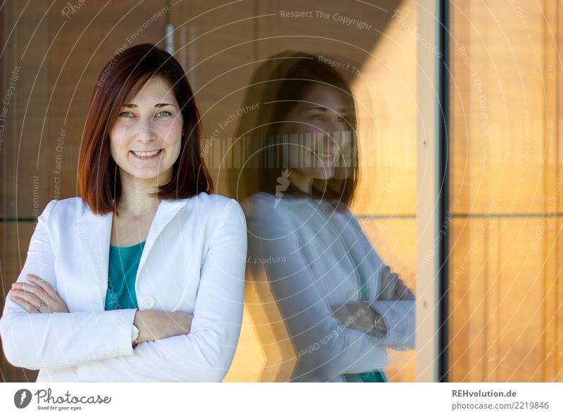 Karina | Businessportrait Lifestyle elegant Stil schön Bildung Student Beruf Karriere Erfolg Mensch feminin Junge Frau Jugendliche 1 18-30 Jahre Erwachsene
