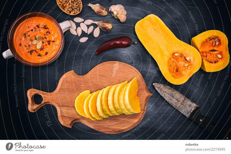 Natur weiß Essen gelb Herbst Holz oben frisch Tisch Gemüse Jahreszeiten Ernte Bioprodukte Tradition Abendessen Mahlzeit