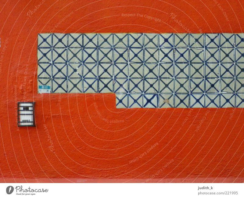 red wall rot Wand Stein Mauer Gebäude Architektur Fassade ästhetisch authentisch einfach Grenze Bauwerk Geometrie Symmetrie privat