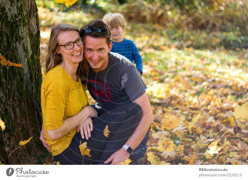 Herbst 2017 Lifestyle Freizeit & Hobby Mensch Junge Frau Jugendliche Junger Mann Erwachsene Eltern Familie & Verwandtschaft Paar Partner Kindheit 3 3-8 Jahre