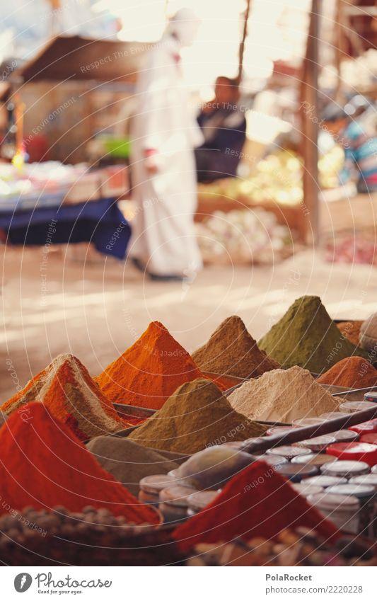 #A# Gewürzmarkt Kräuter & Gewürze ästhetisch Markt Marktplatz Markttag Gewürzladen Curry Arabien Orientalische Küche Naher und Mittlerer Osten Farbfoto