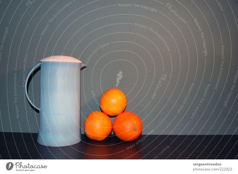 ...tea and oranges that come all the way from China... Farbe Ernährung Orange Lebensmittel Design Frucht Getränk ästhetisch Tee Kreativität Stillleben