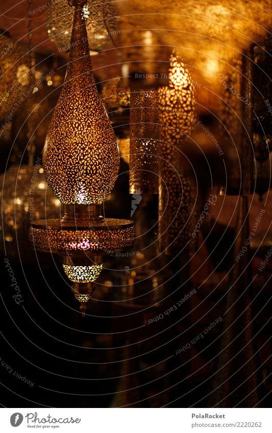 #A# Lichtermarkt Kunst Kunstwerk ästhetisch Lampe Lichterscheinung Lichtschein Lichtspiel Lichtblick Naher und Mittlerer Osten Arabien gold viele Unschärfe