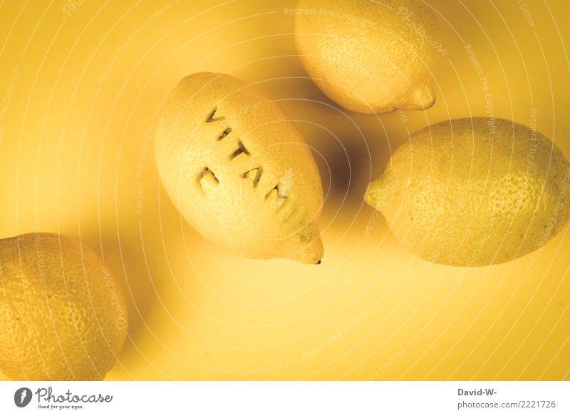 VITAMIN C Lebensmittel Frucht Ernährung schön Gesundheit Gesundheitswesen Gesunde Ernährung sportlich Fitness Mensch Kunst Umwelt Natur frisch saftig gelb