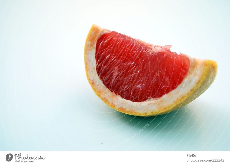 grinse-Grapefruit rot Ernährung Lebensmittel Frucht frisch süß Teile u. Stücke lecker Diät Bioprodukte saftig sauer Fruchtfleisch fruchtig Geschmackssinn