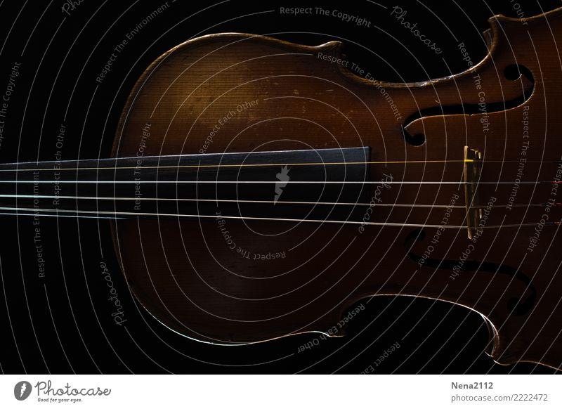 Geige 02 Holz Kunst Spielen Musik fantastisch Konzert Bühne Band Musikinstrument Musiker Saite Oper Orchester Cello Musik hören