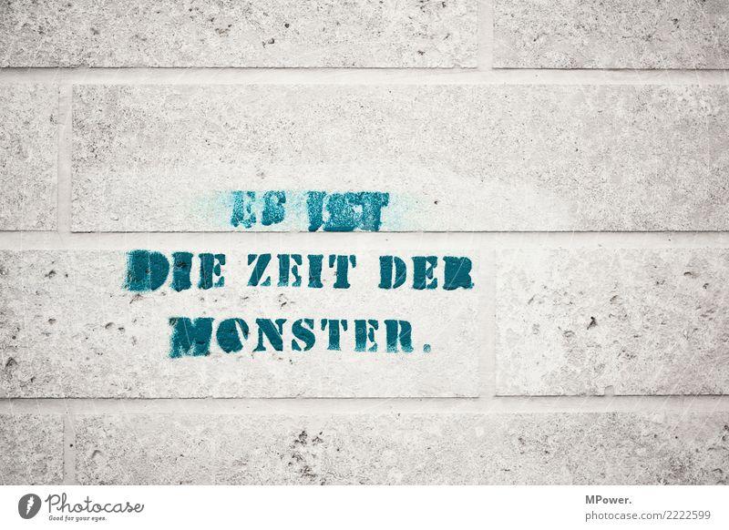 ... Graffiti Stimmung Schriftzeichen Zeichen Meinung Text Aggression Monster Steinmauer Aussage Meinungsfreiheit