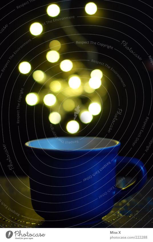 hot blau hell Getränk Punkt leuchten Tasse Zauberei u. Magie Becher Tragegriff Heißgetränk