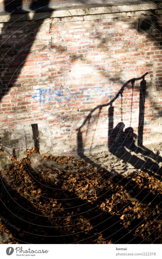 Mutter-Kind-Turnen (LT Ulm 14.11.10) Mensch Blatt dunkel Wand Spielen Mauer Familie & Verwandtschaft Graffiti hell Erwachsene Freizeit & Hobby Kindheit Schaukel