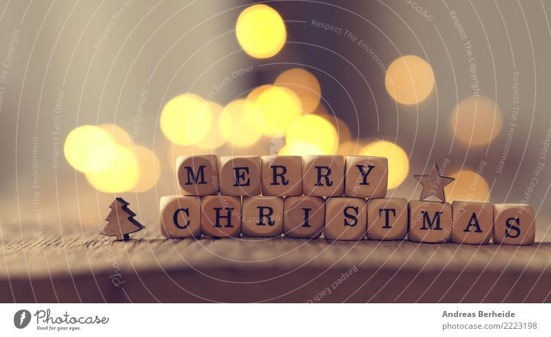 Merry Christmas Weihnachten & Advent Freude Winter Feste & Feiern Dekoration & Verzierung Vorfreude