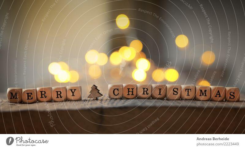 Merry Christmas Winter Dekoration & Verzierung Feste & Feiern Weihnachten & Advent Fröhlichkeit Vorfreude Zusammensein Romantik abstract beautiful beauty blue