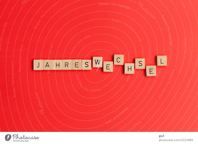 Jahreswechsel Spielen Silvester u. Neujahr Schriftzeichen Lebensfreude Vorfreude Optimismus beweglich Neugier Zukunftsangst Beginn Erwartung Idee Inspiration