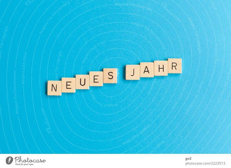 Neues Jahr Spielen Schriftzeichen Wachstum Kreativität Geburtstag Erfolg Zukunft Idee Ziel Mut Silvester u. Neujahr Vorfreude Optimismus Fortschritt Tatkraft