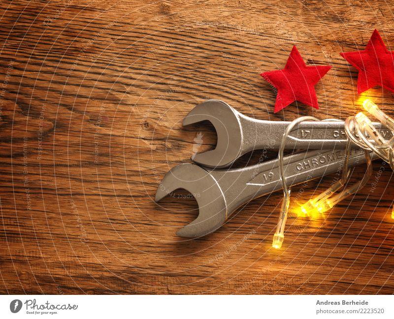 Weihnachten im Baumarkt Weihnachten & Advent Hintergrundbild Stil Feste & Feiern Arbeit & Erwerbstätigkeit Baustelle Symbole & Metaphern Industriefotografie