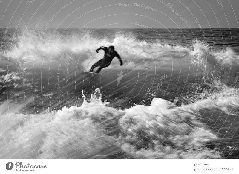 Energy III Mann Natur Wasser Meer Wellen Kraft Freizeit & Hobby maskulin ästhetisch Lifestyle Urelemente außergewöhnlich Mut Leidenschaft sportlich Surfen