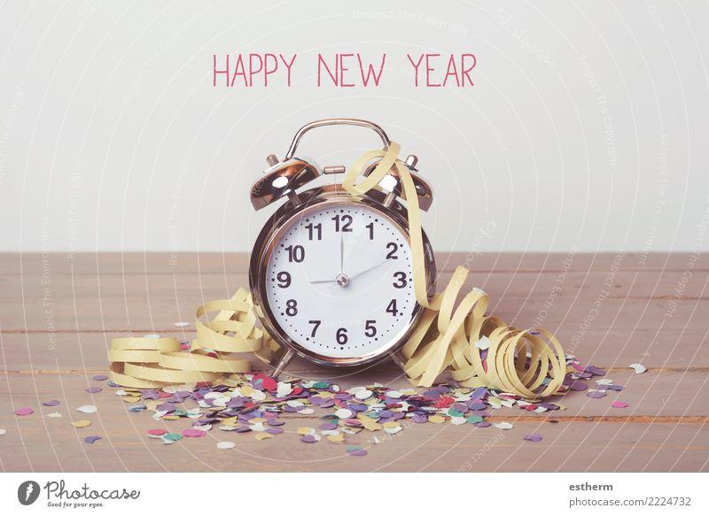 Frohes neues Jahr Lifestyle Freude Glück Uhr Entertainment Party Veranstaltung Feste & Feiern Weihnachten & Advent Bewegung Ferien & Urlaub & Reisen Gefühle