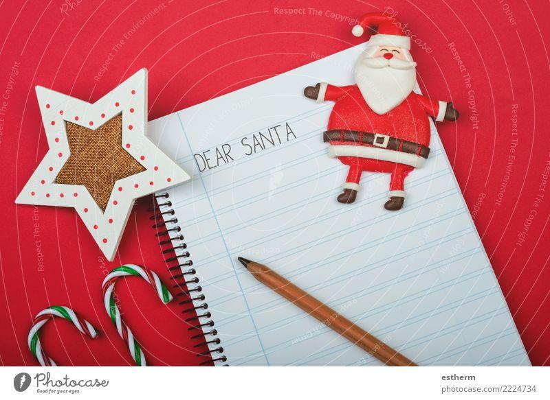 Lieber Weihnachtsmann, Brief an den Weihnachtsmann Ferien & Urlaub & Reisen Freude Religion & Glaube Lifestyle lustig Gefühle Glück Feste & Feiern Party Denken