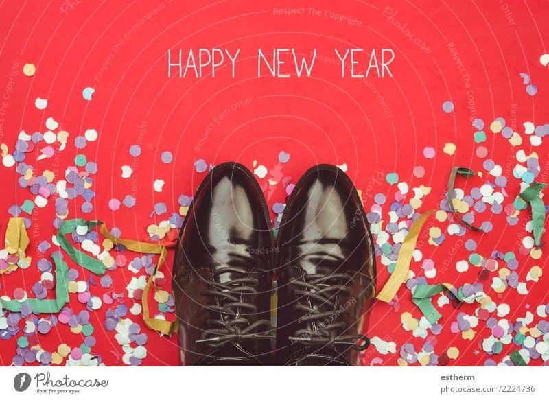 Frohes neues Jahr Ferien & Urlaub & Reisen Weihnachten & Advent Freude Lifestyle Gefühle Glück Mode Feste & Feiern Party modern elegant Schuhe Erfolg