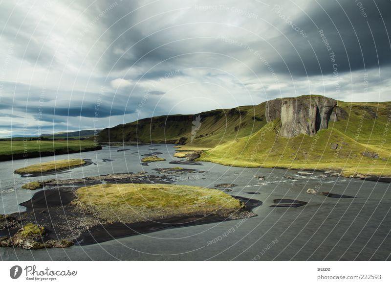 Landschaft Natur schön Wolken Ferne Wiese Berge u. Gebirge Gras See Küste Umwelt frei Klima Reisefotografie Hügel Unendlichkeit