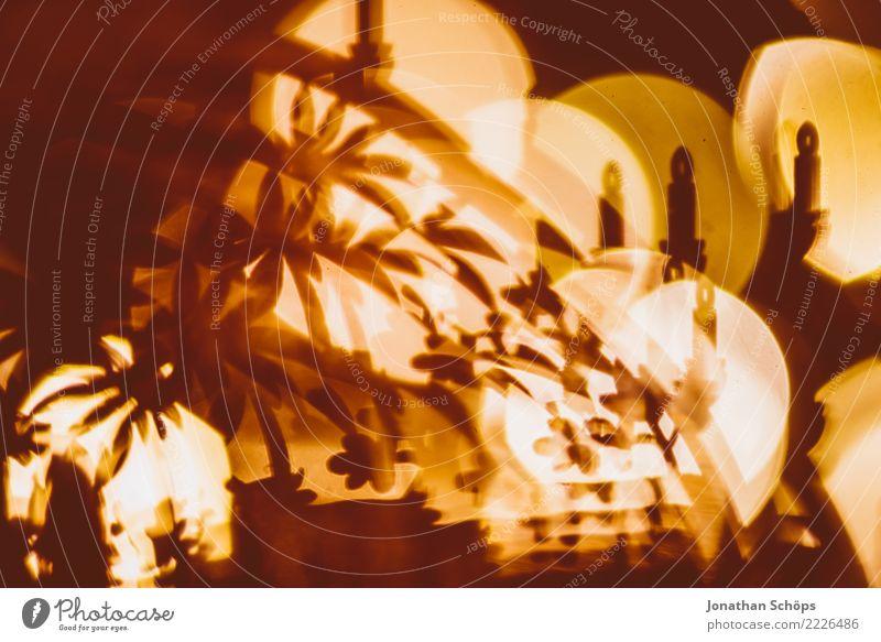 Weihnachtsdeko mit Bokeh VII Kind Weihnachten & Advent Wärme Stimmung Häusliches Leben hell leuchten Dekoration & Verzierung Hoffnung Tradition selbstgemacht