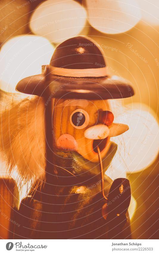 Weihnachtsdeko mit Bokeh V Dekoration & Verzierung Weihnachten & Advent Wärme Hut hell Stimmung Hoffnung Tradition Bergarbeiter Erzgebirge Erzgebirgskunst