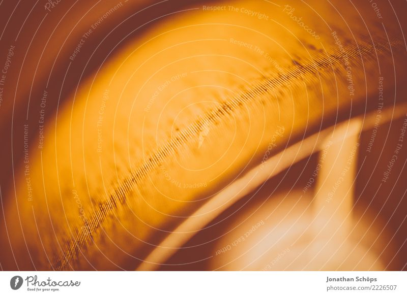 Wohnzimmerlampe Retro alt Wärme Beleuchtung Hintergrundbild Lampe orange Häusliches Leben retro Streifen Wohlgefühl Nostalgie minimalistisch alternativ
