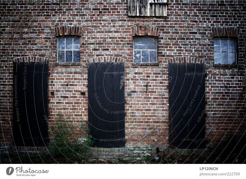 The Doors VI alt Einsamkeit Haus kalt Fenster Wand Architektur Holz Stein Mauer Gebäude Tür 3 Fabrik Backstein Bauernhof