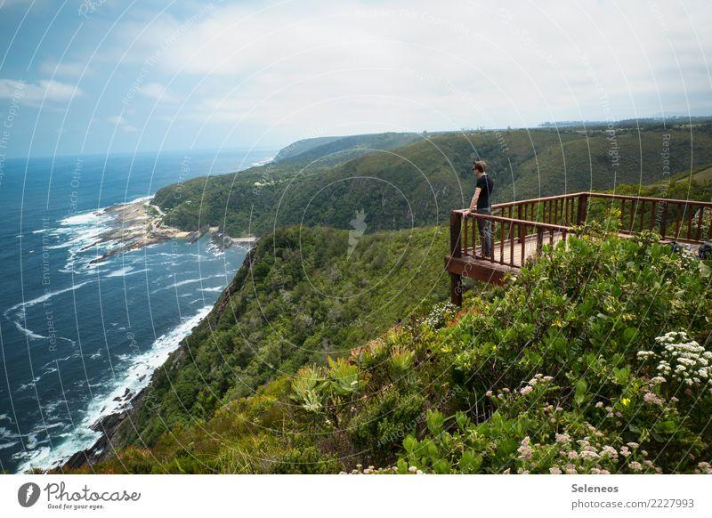 schöne Aussicht harmonisch Wohlgefühl Zufriedenheit Sinnesorgane Erholung ruhig Ferien & Urlaub & Reisen Tourismus Ausflug Abenteuer Ferne Freiheit Sommer