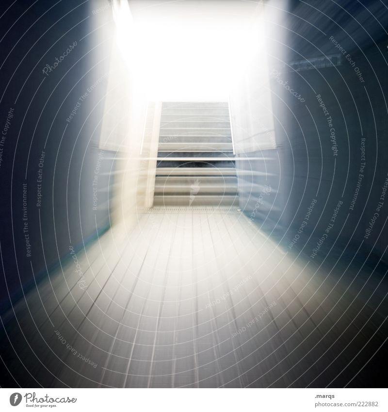 En route elegant Stil Treppe Bewegung außergewöhnlich dunkel verrückt Fortschritt Geschwindigkeit Perspektive Surrealismus Zukunft Erkenntnis Beginn