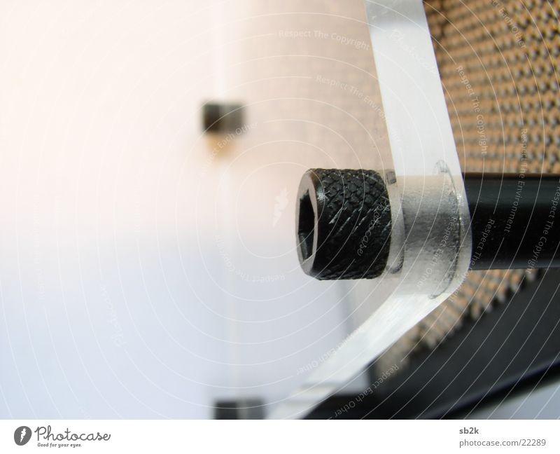 im Detail Wärme hell Glas Physik Nagel Schraube