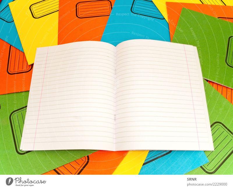 Notizbücher Schule Linie Büro offen Papier Studium Sauberkeit gestreift Stapel Mitteilung üben Notizbuch blanko Tagebuch Aushang liniert
