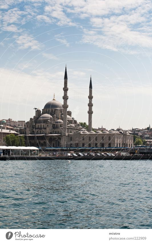 Istanbul die heimliche Hauptstadt der Türkei Wasser Sonne Sommer Meer Wolken Gebäude Architektur Küste Wetter Fluss Kultur Bauwerk Stadtzentrum Wahrzeichen