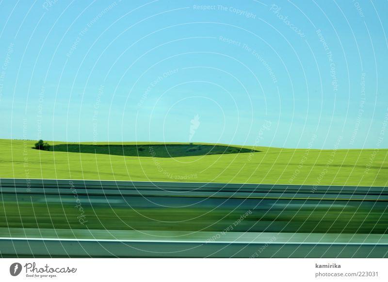 island and the yellow sea Himmel grün blau Sommer gelb Straße Frühling Landschaft Luft Feld Horizont Geschwindigkeit ästhetisch Autobahn Verkehrswege Autofahren