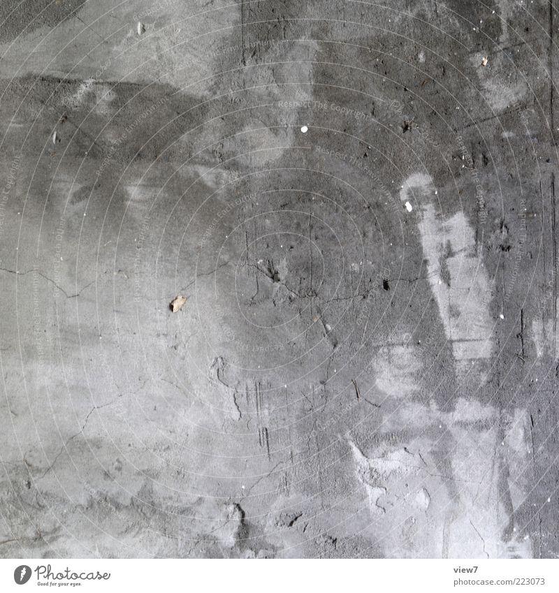 taktil alt dunkel kalt Wand grau Stein Mauer dreckig Hintergrundbild Fassade Beton modern trist kaputt Baustelle authentisch