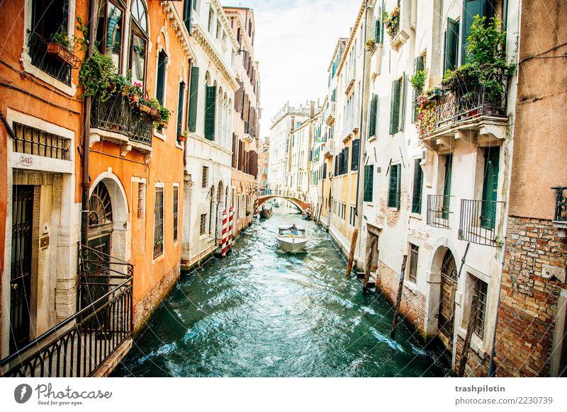 Venedig Ferien & Urlaub & Reisen Tourismus Ausflug Abenteuer Ferne Freiheit Sightseeing Städtereise Kreuzfahrt Italien Europa Stadt Hafenstadt Haus