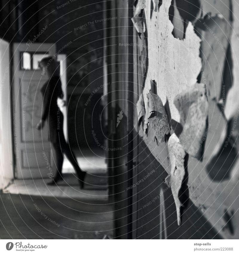 Graziös Auftreten Mensch Jugendliche schön feminin Wand Mauer Beine Fuß Tür Tanzen elegant ästhetisch Dekoration & Verzierung leuchten Körperhaltung