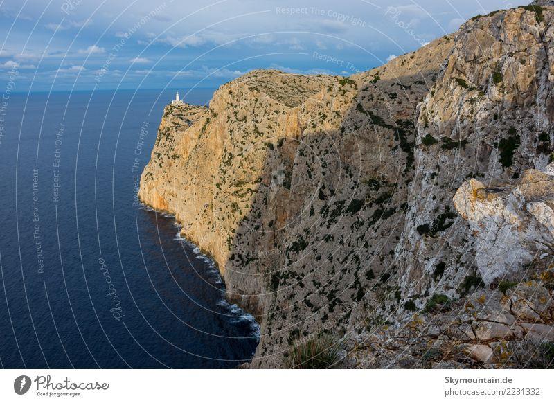 Ostküste von Mallorca mit Blick Richtung Cap Formentor Natur Ferien & Urlaub & Reisen Sommer Sonne Landschaft Meer Erholung Freude Ferne Strand Essen Umwelt