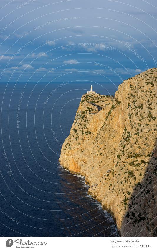 Ostküste von Mallorca mit Blick Richtung Cap Formentor Ferien & Urlaub & Reisen Tourismus Ausflug Abenteuer Ferne Expedition Sommer Sommerurlaub Strand Meer