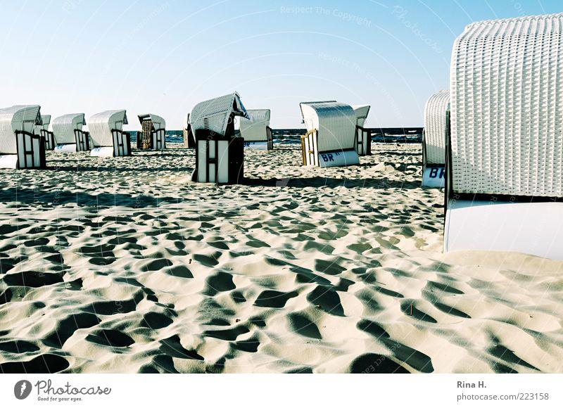 Feierabend Ferien & Urlaub & Reisen Tourismus Ausflug Strand Erholung Zufriedenheit Lebensfreude Freizeit & Hobby Frieden ruhig Farbfoto Menschenleer